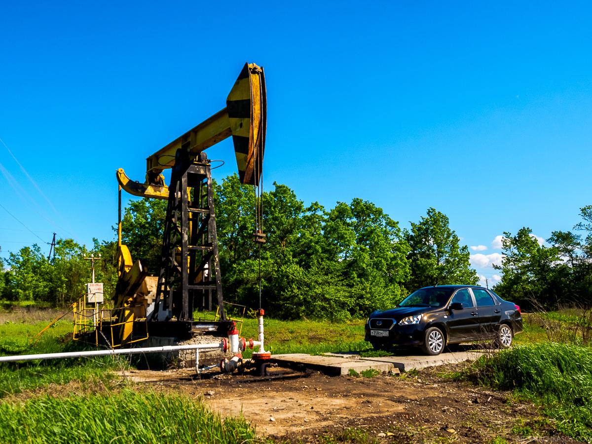 Спец-тест Datsun on-DO: Качаем нефть и сравниваем с Tesla