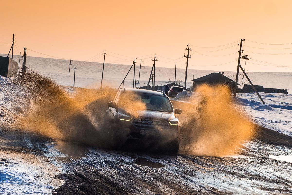 Дороги Южного Урала до рестайлинга, и Ford Kuga — после