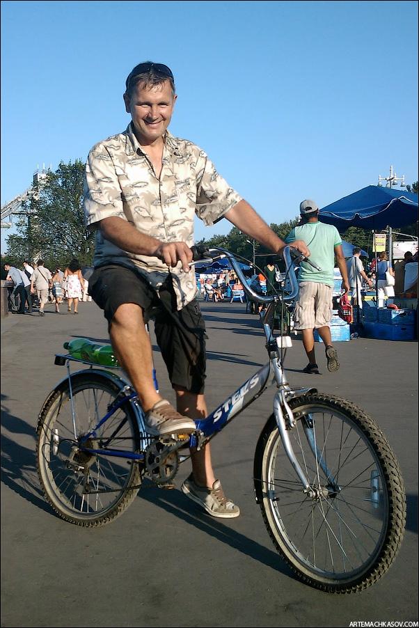 Велосипед - неотъемлемая часть индивидуального стиля Stels-biker