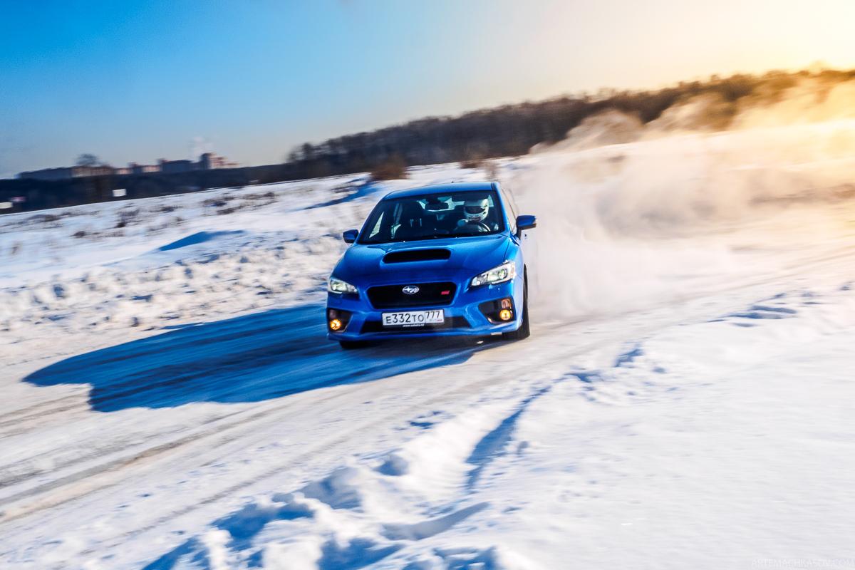 Кому нужна Subaru WRX STI 2016?